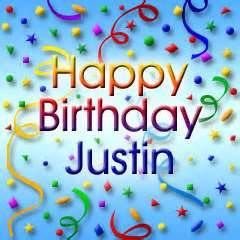 1/21 - Happy 20th Birthday to my son Justin  Love you