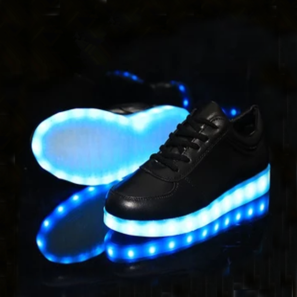 Fashion students colorful led rechargeable luminous shoes Cute – Clothing Sponsorship
