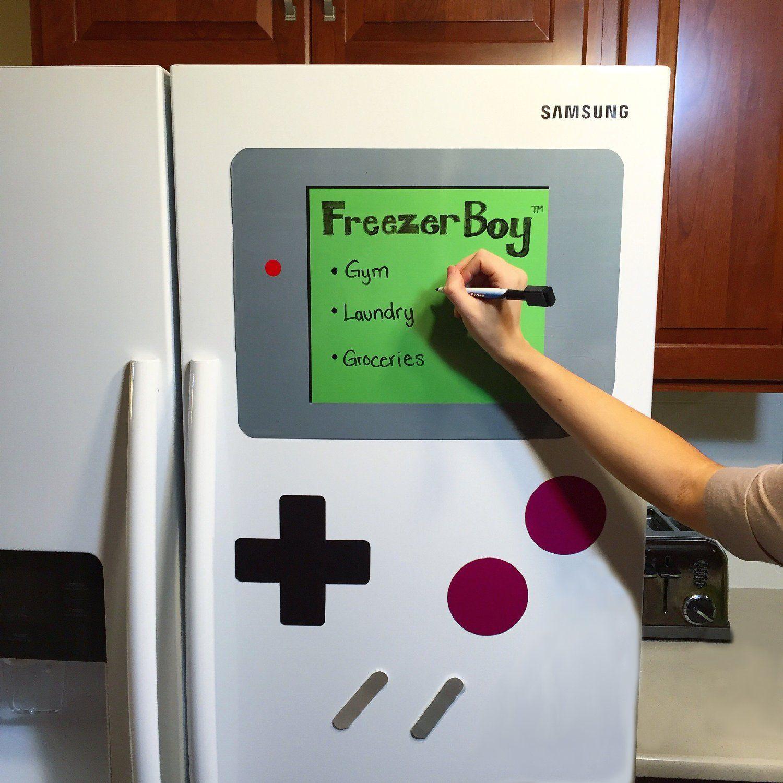 geeky kitchen decor freezerboy giant game boy fridge magnets geeky kitchen decor freezerboy giant game boy fridge magnets saltnpop