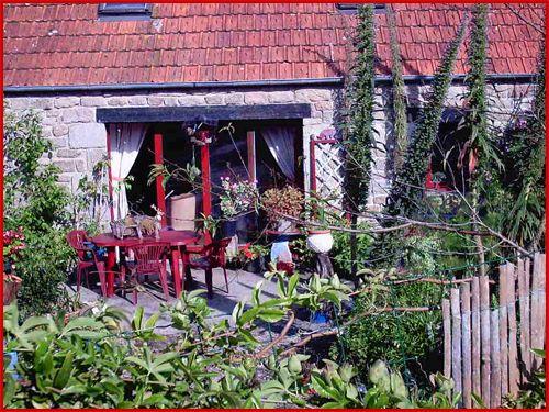 Le jardin Breton de ma soeur martine