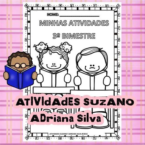 Capa 3º bimestre - Atividades Adriana