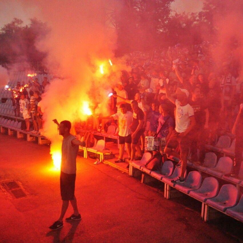 Сталь Д - Динамо 19.07.2015 Фанати Динамо. Stal Dniprodzerzhinsk - Dynamo Kyiv 19.07.2015 Ukrainian Premiere League. Dynamo fans.