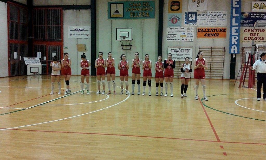 Volley C/F, secondo stop per la Gherardi Cartoedit Città di Castello