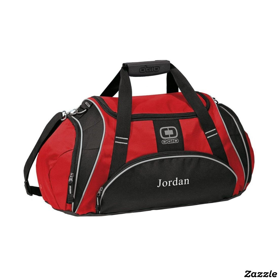 e600db5eb4 Personalized Red Ogio Gym Bag