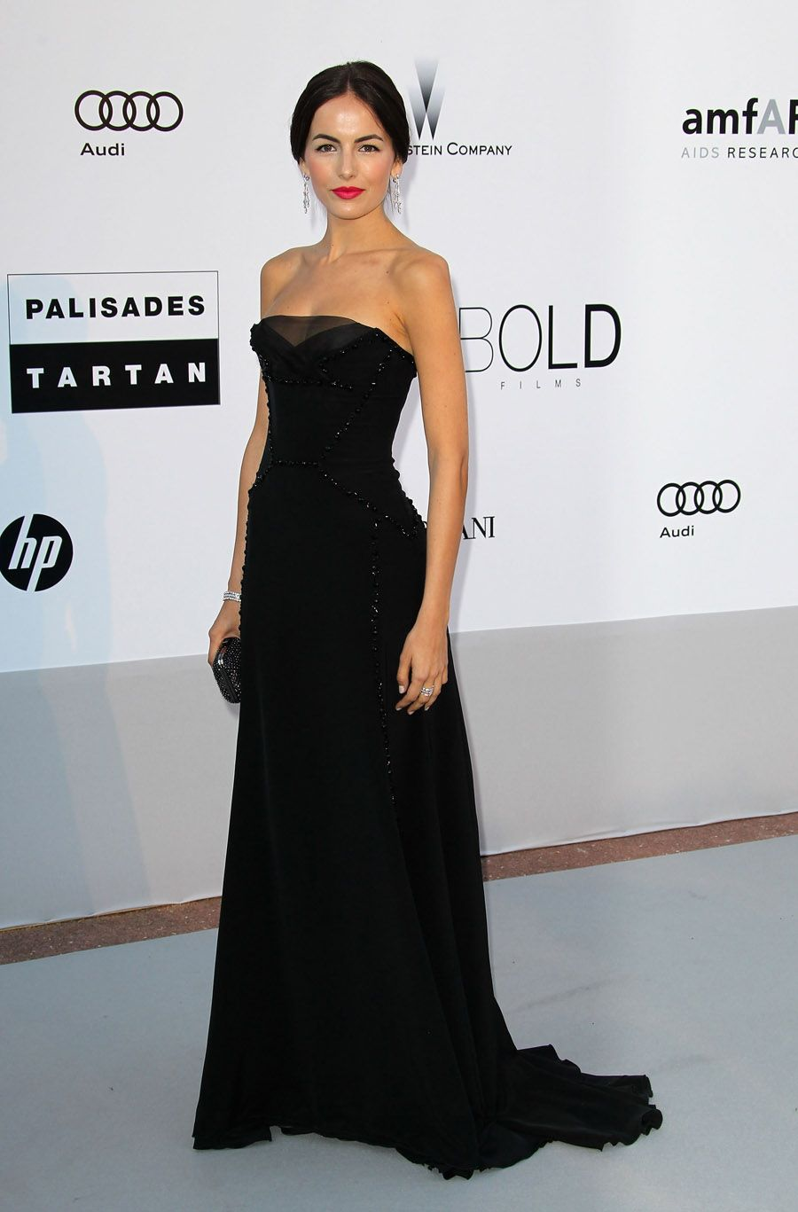 Camilla Belle in Gucci at the amfAR Cinema Against AIDS Gala in Cannes 2010