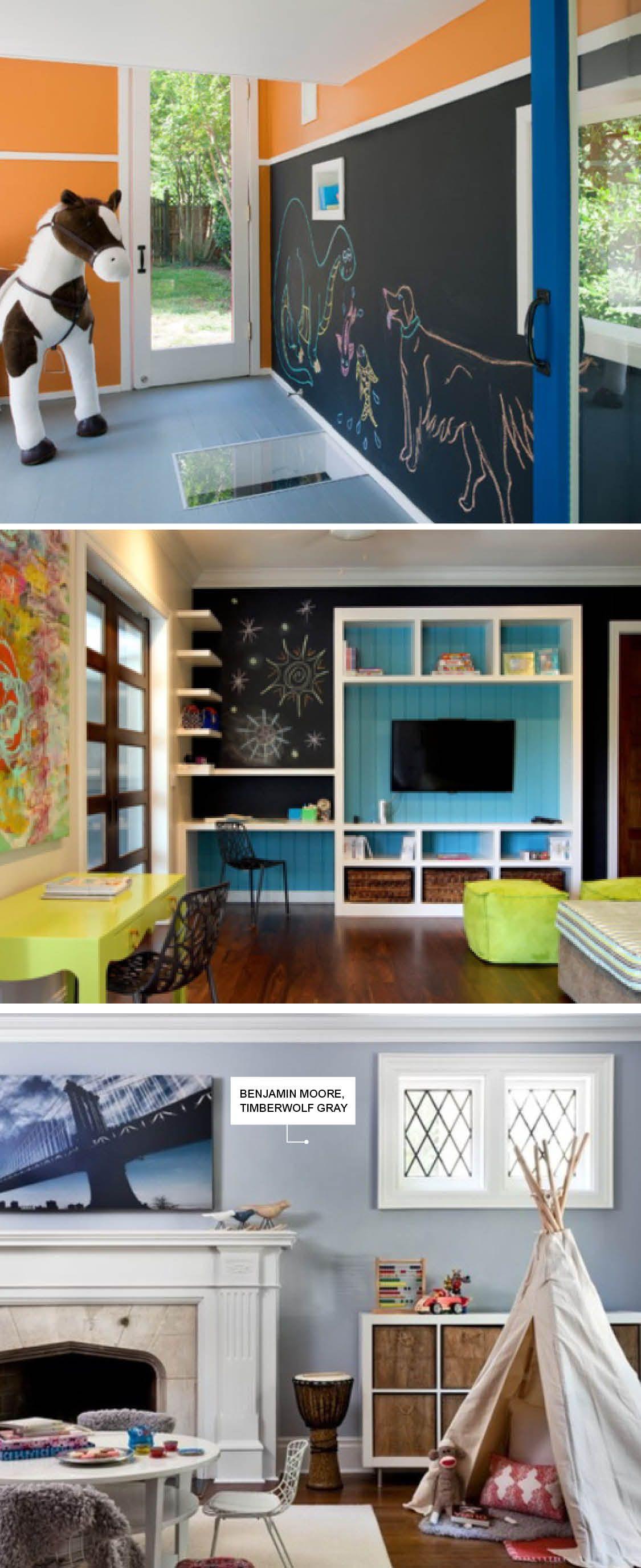 Kids Playroom Houzzcom Kids Rooms In 2018 Pinterest Playroom