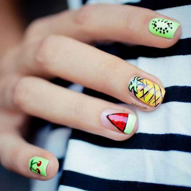 28 Colorful Nail Art Designs That Scream Summer Addicted To Nail