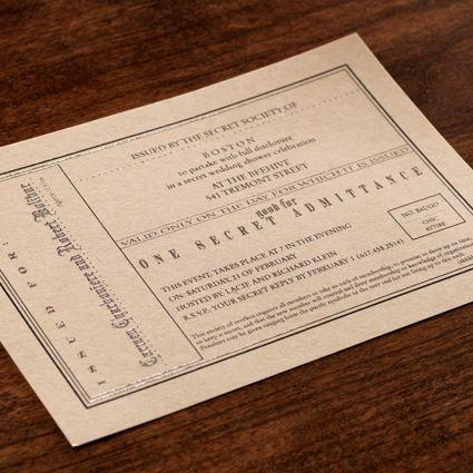 corporate invitations
