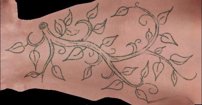 Succubus Tatto Hand The Witcher 2 Assasins Of Kings Sukkub Tatuaż