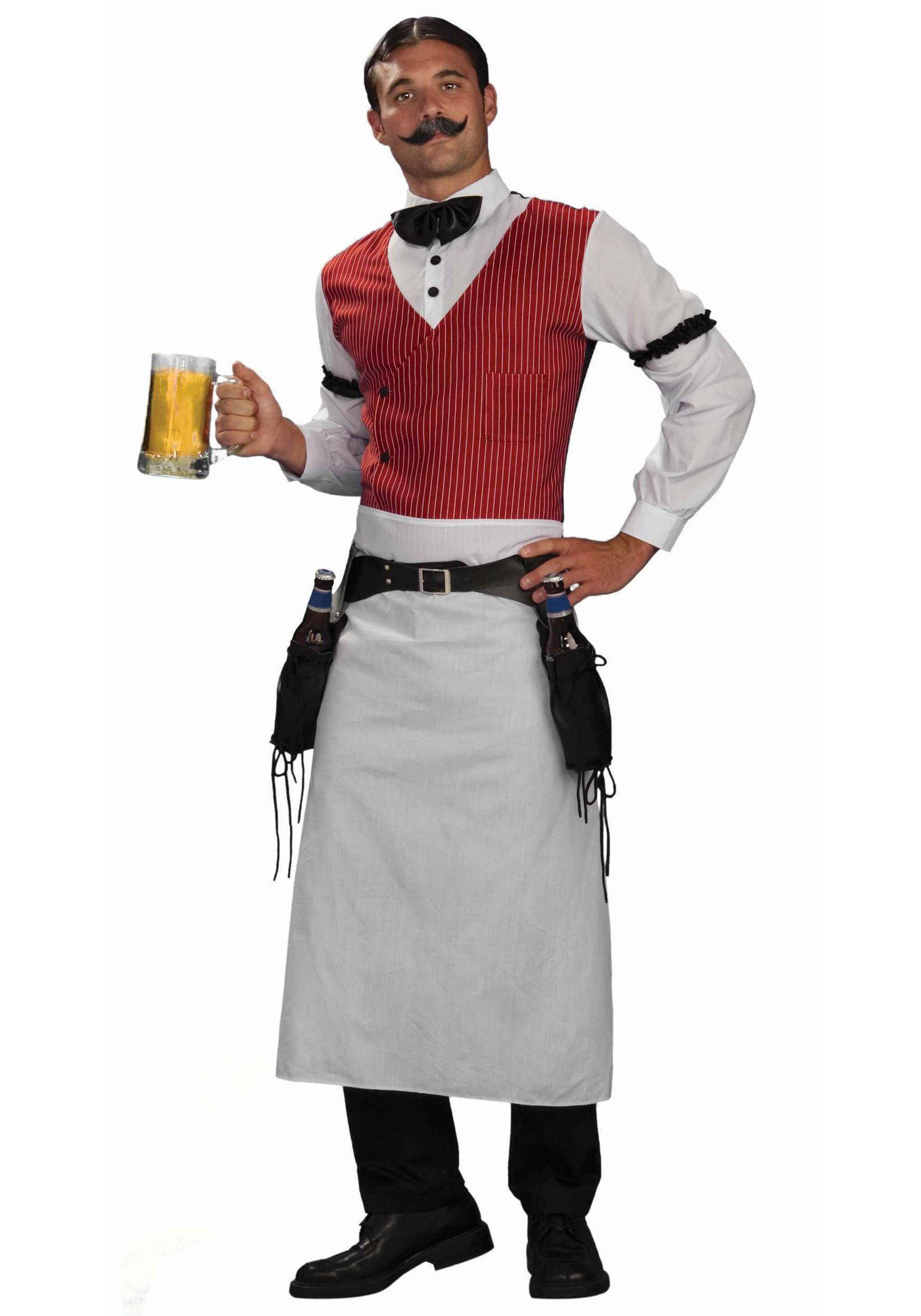 Saloon Bartender Costume Western costumes, Wild west