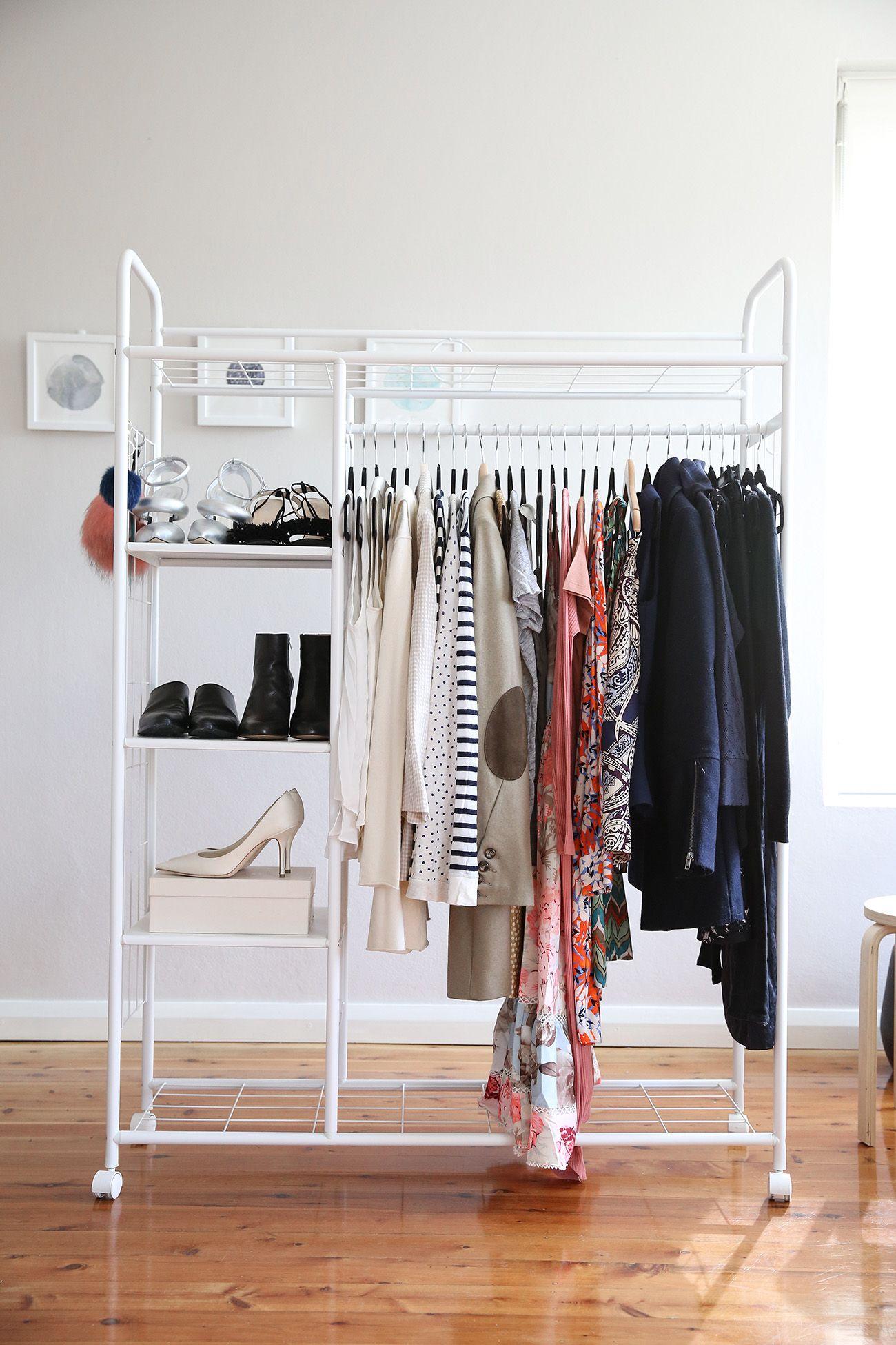 Great Declutter Wardrobe Rehab Cull Minimalist Minimal Closet