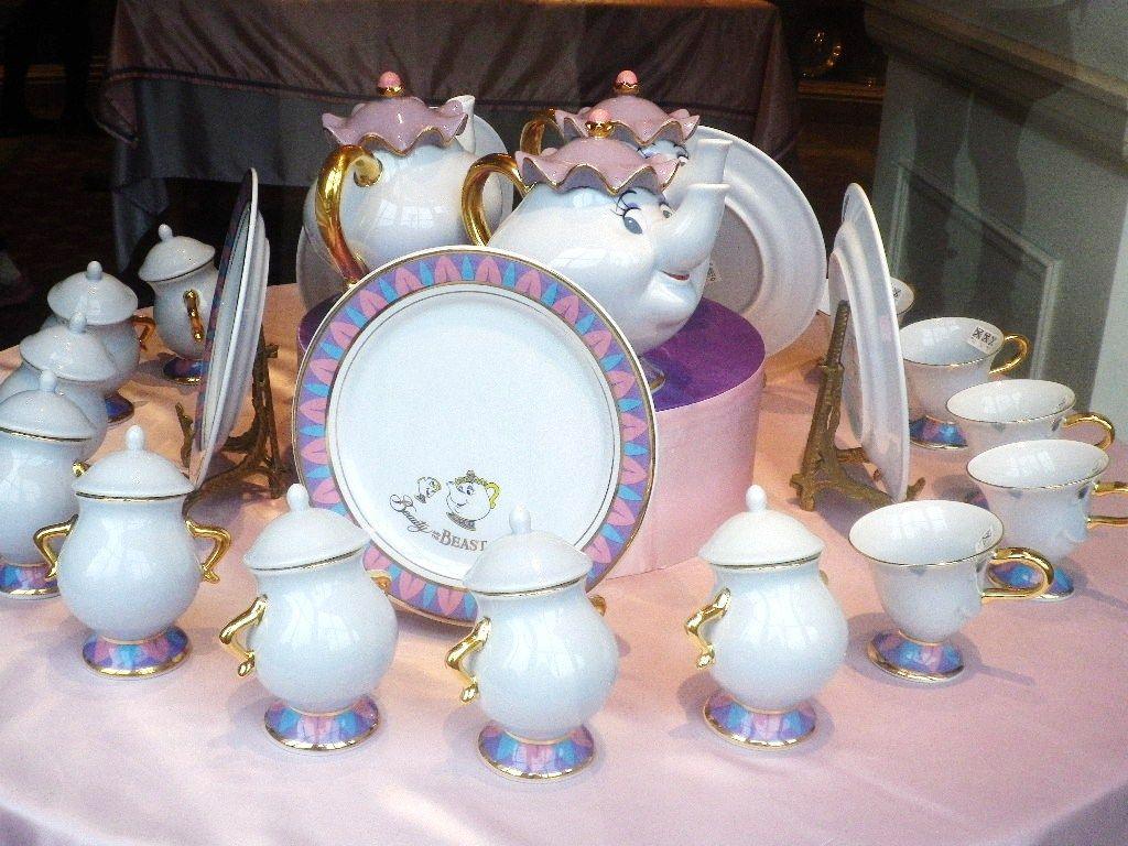 Mrs.Pot \u0026 chip tableware at Tokyo Disney Land & Mrs.Pot \u0026 chip tableware at Tokyo Disney Land | \