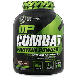 Musclepharm Combat Protein Powder Extreme Chocolate Milk 4 Lbs 1814 G Iherb Whey Protein Protein Powder Protein Powder Cookies