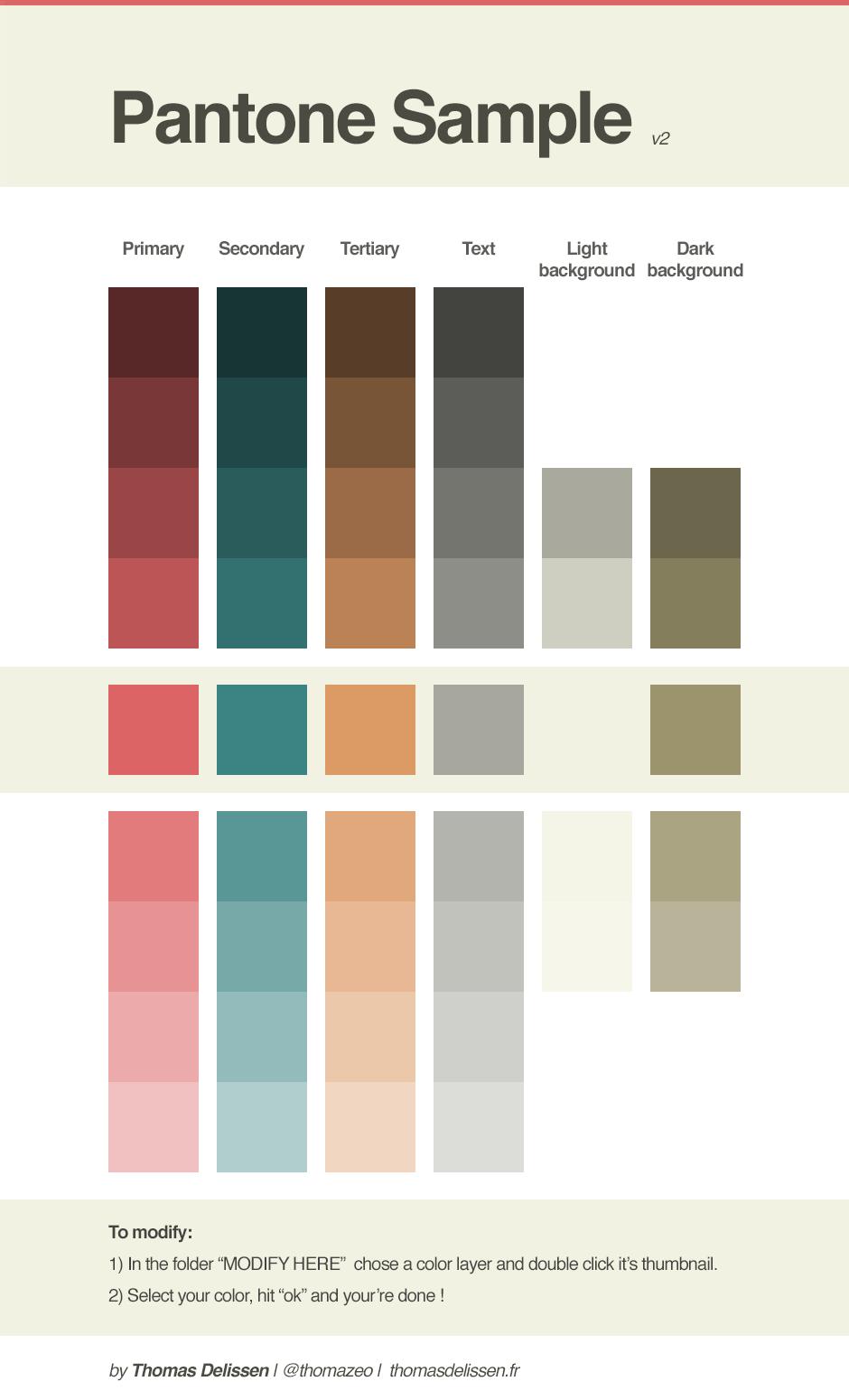 Pantone Sample Psd  Graphic Design Freebies    Pantone