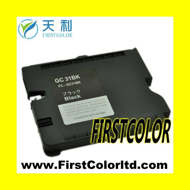 X1pcs Gc31k Compatible For Ricoh Sublimation Ink Gc31 Gc 31 Ink Cartridge Gx3300 Gx5000 Gx7000 Gx3050 Gx2050 Gx2500 Gx50 Ink Cartridge Cartridges Compatibility