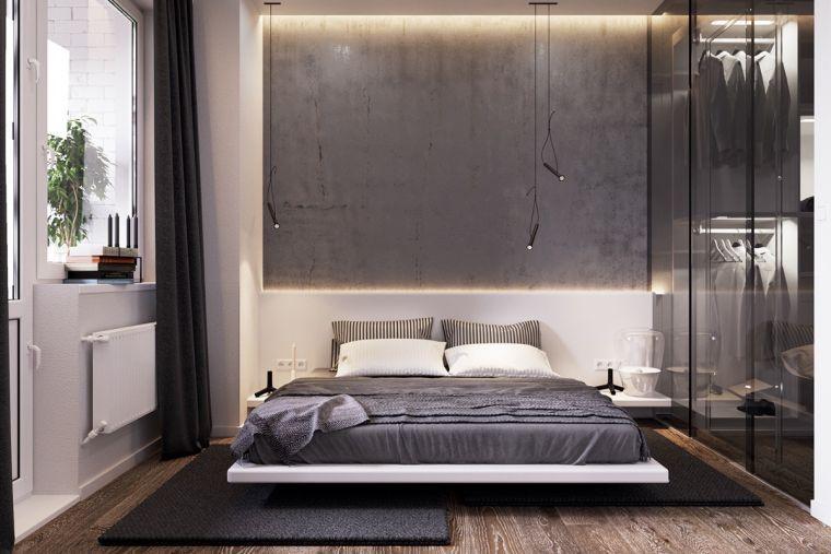 Couleur chambre design : 42 espaces dominés par le gris | Couleurs ...