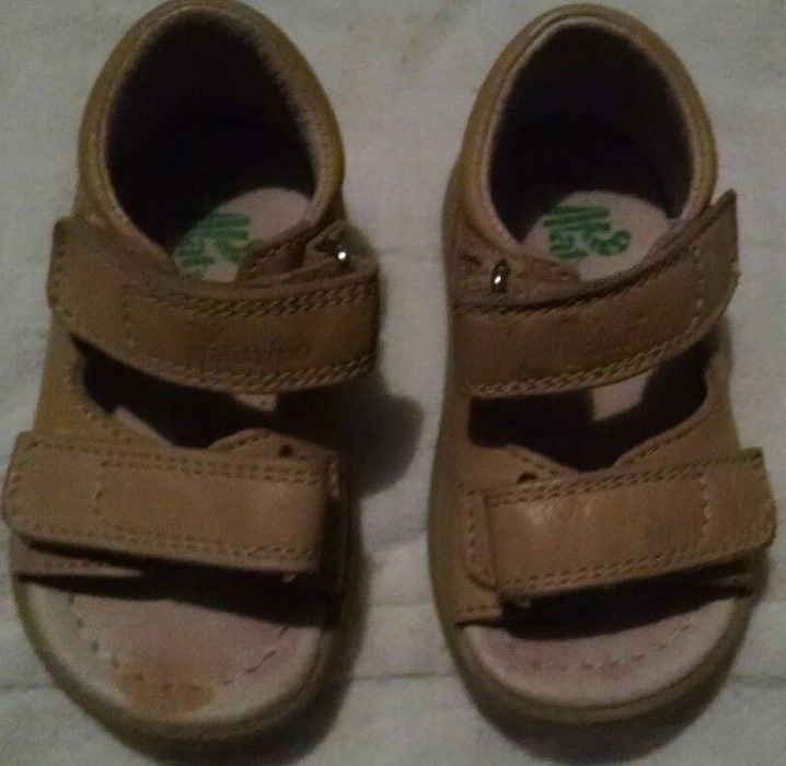 Naturino Falcotto Brown Sandals Shoes Toddler Size 20