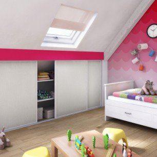 Porte De Placard Coulissante Effet Frene Blanc L 98 7xh 120cm Met Afbeeldingen Interieur De Kinderkamer Wonen