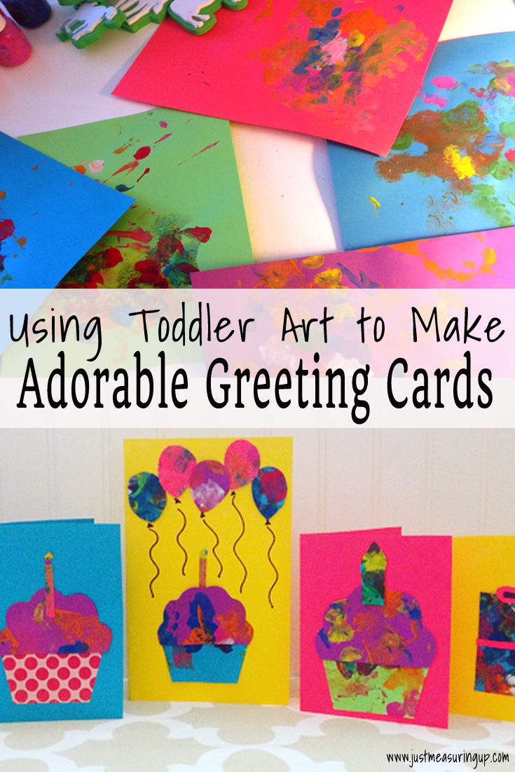 Making Cards With Toddlers Creating Gorgeous Greeting Cards From