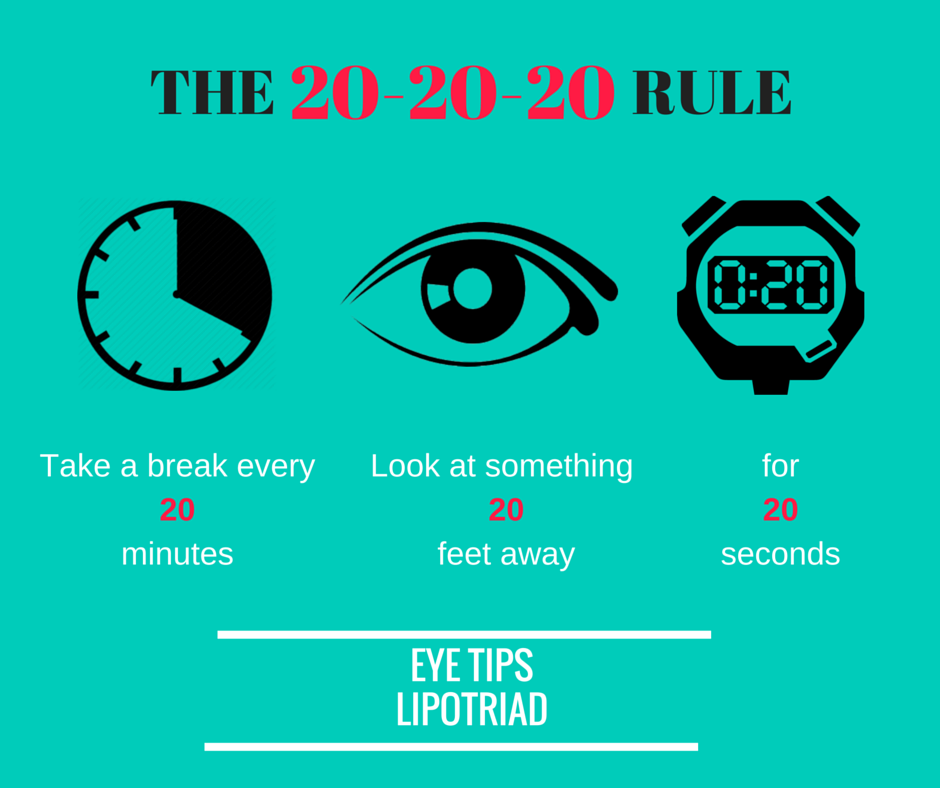 20-20-20 Eye Rule