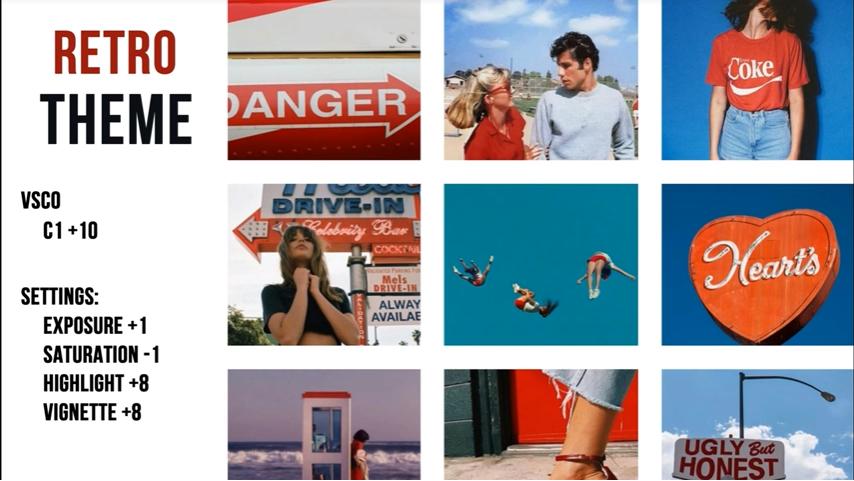 Retro Theme Vsco Cam Photo Editing Vsco Instagram Themes Vsco Vsco Filter Free