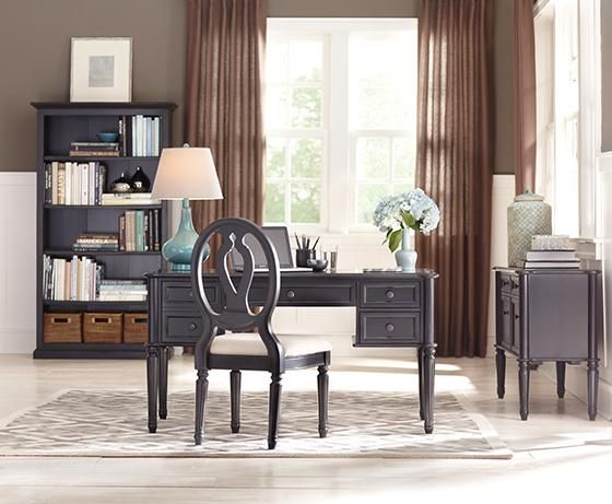 Martha Stewart Living™ Ingrid Desk | Moveis, Decor escritorio