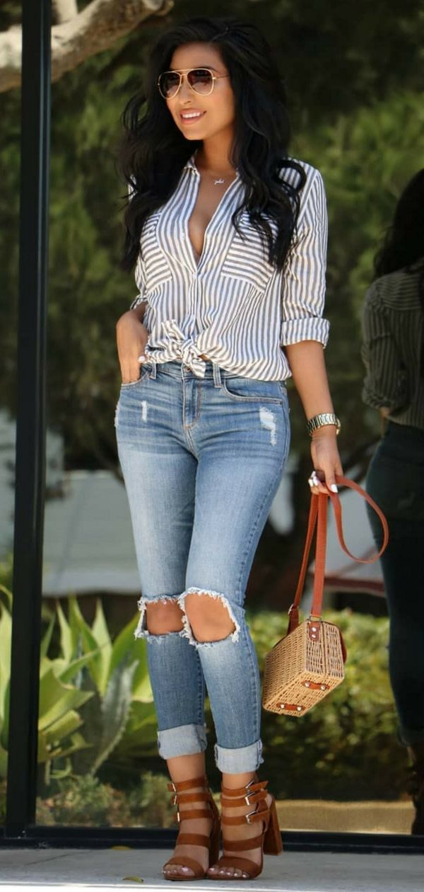 50++ Dressy casual summer outfits trends