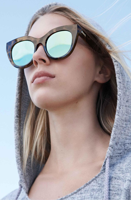 f0cc2845e7 Main Image - Le Specs Air Heart 51mm Sunglasses