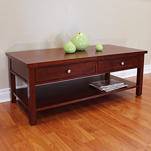 DonnieAnn Oakdale Coffee Table Home & Kitchen 5