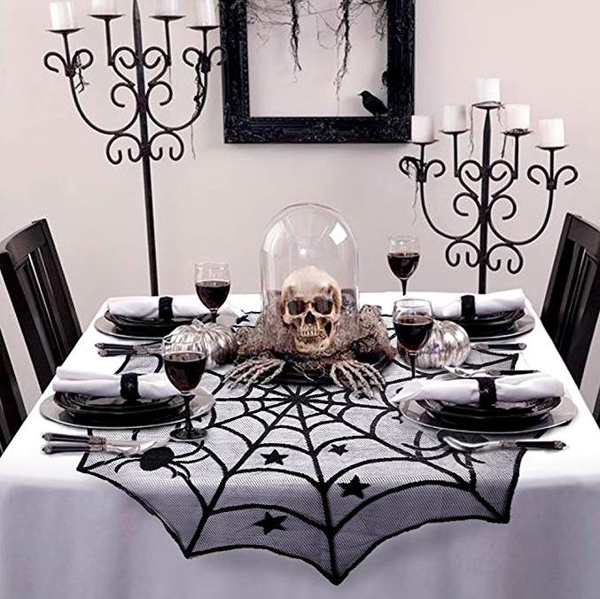 20 Fun Affordable Halloween Decorations On Amazon For 20 Or Less Halloween Table Decorations Halloween Kitchen Halloween Table