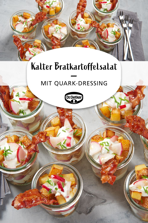 Kalter Bratkartoffelsalat #buffet