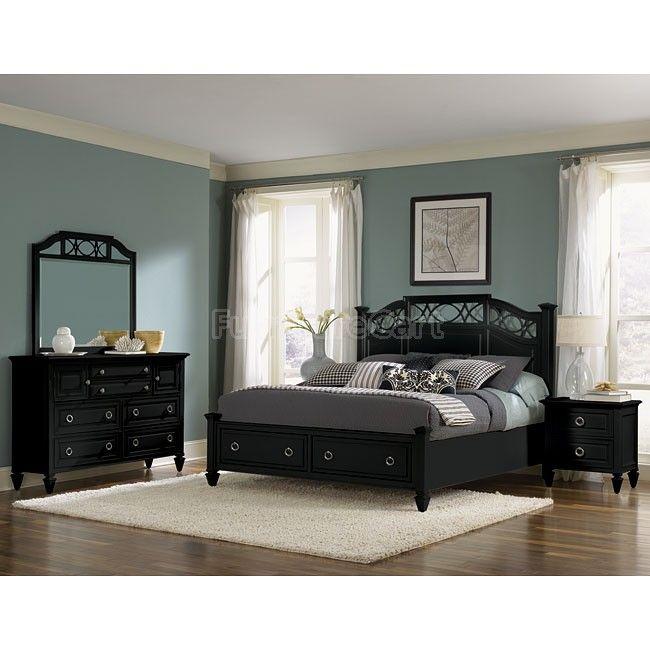 Bedroom Sets, Black Bedroom