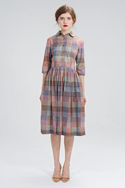 Платье рубашка на осень фото