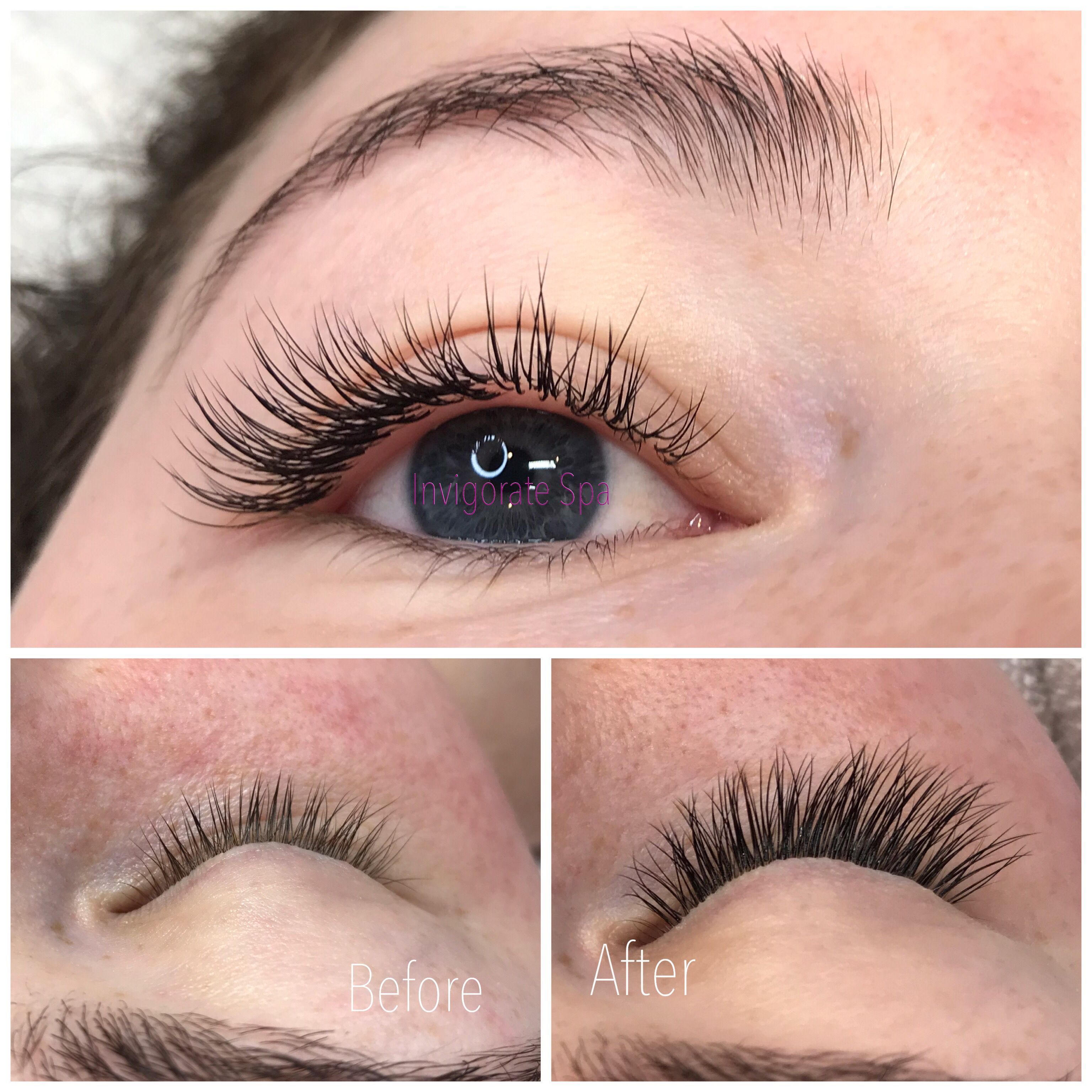 A set of classic mink lash extensions for the holidays