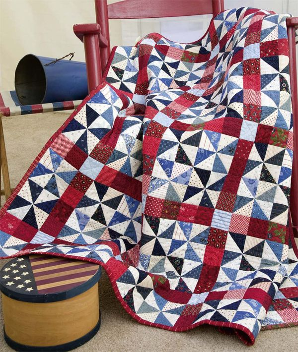 Stitch, create, celebrate: 10 patriotic quilt patterns