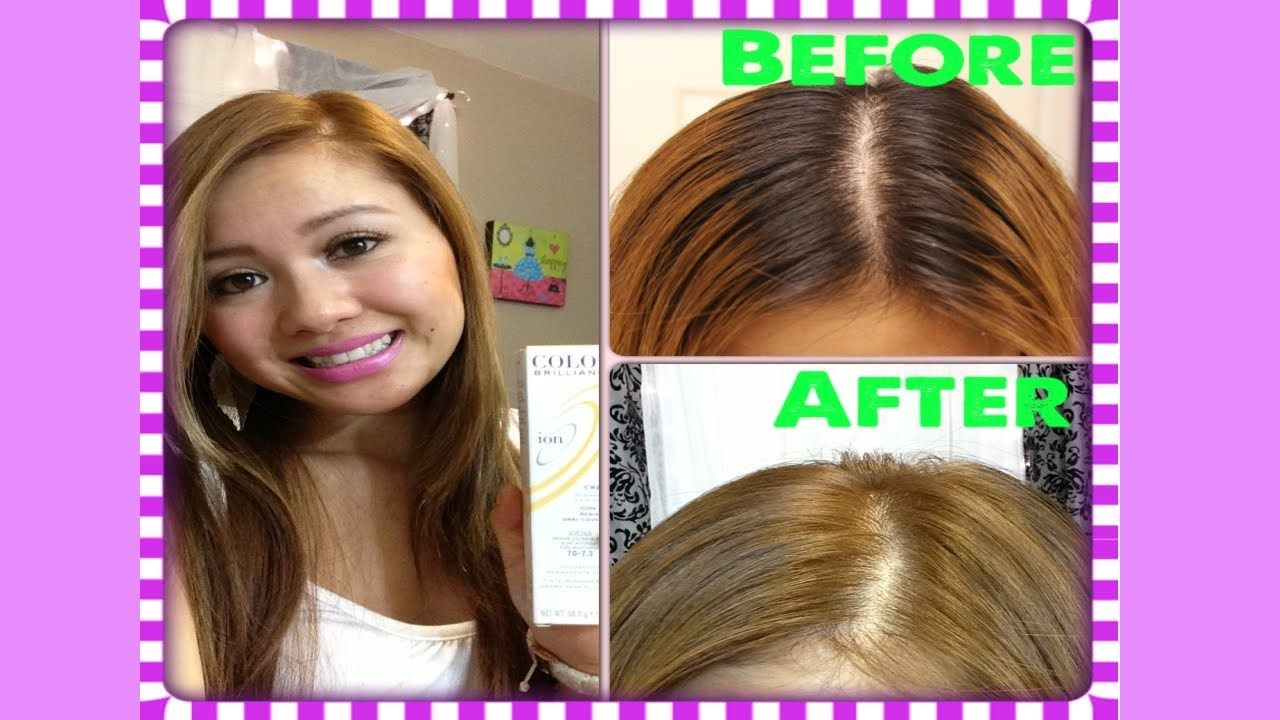 Light Golden Brown Hair Color On Dark Brown Hair Best At Home Semi