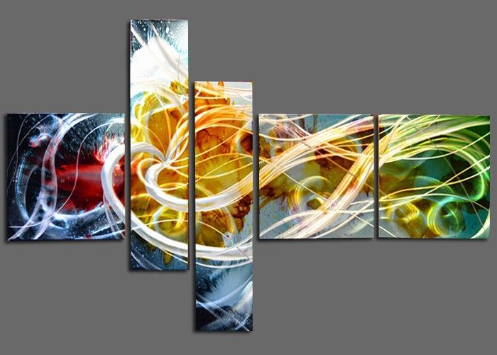 Modern art · Perfection of metal wall ... & Perfection of metal wall art!! Fabulous painting with great color ...