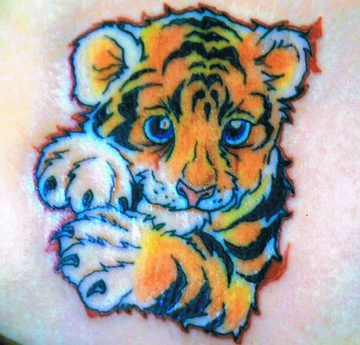 Don T Like How Cartoon Tiger Tattoo Baby Tattoos Animal Tattoos