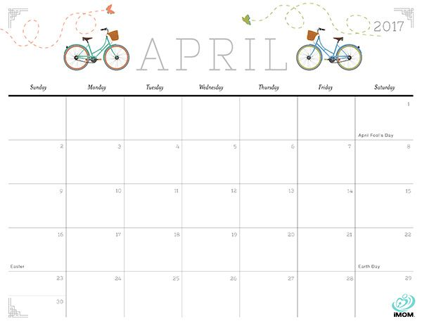 2020 Crafty And Cute Printable Calendar For Moms Calendar