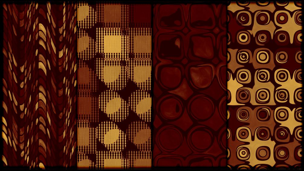 01-golden-red-tileable-retro-patterns