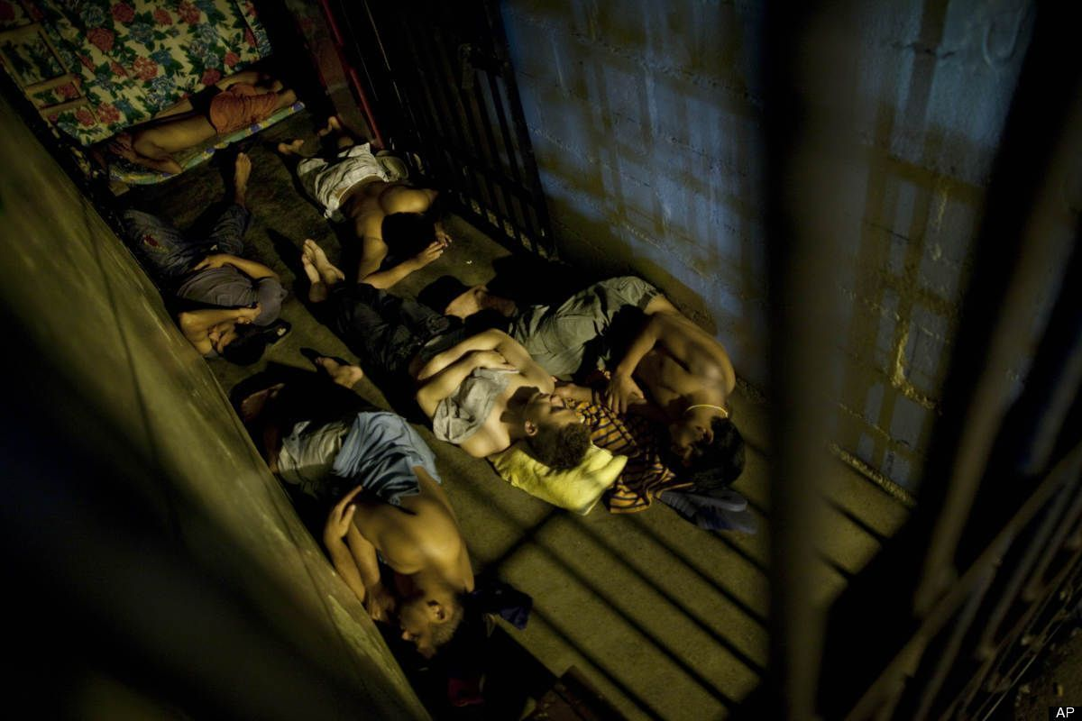 Inmates sleep inside their cell in San Pedro Sula Central Corrections Facility in San Pedro Sula, Honduras #sanpedrosula Inmates sleep inside their cell in San Pedro Sula Central Corrections Facility in San Pedro Sula, Honduras #sanpedrosula Inmates sleep inside their cell in San Pedro Sula Central Corrections Facility in San Pedro Sula, Honduras #sanpedrosula Inmates sleep inside their cell in San Pedro Sula Central Corrections Facility in San Pedro Sula, Honduras #sanpedrosula