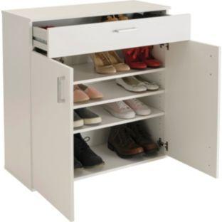 Buy Argos Home Venetia Shoe Storage Cabinet White Shoe Storage