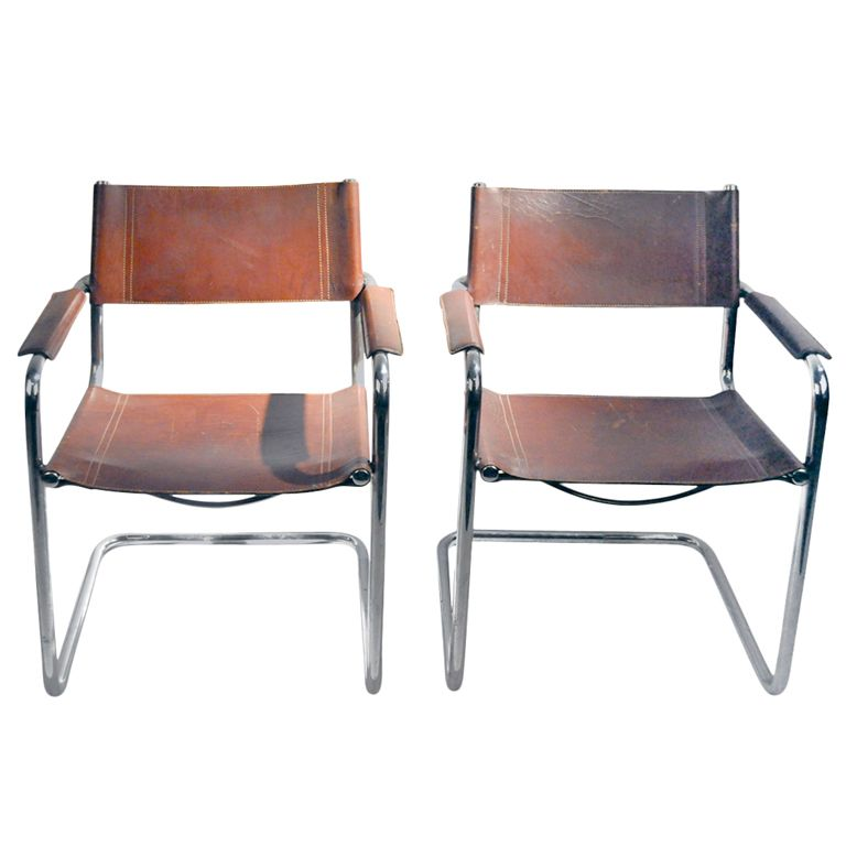 mg5 dining chair by matteo grassi modern armchairmetal framesleather
