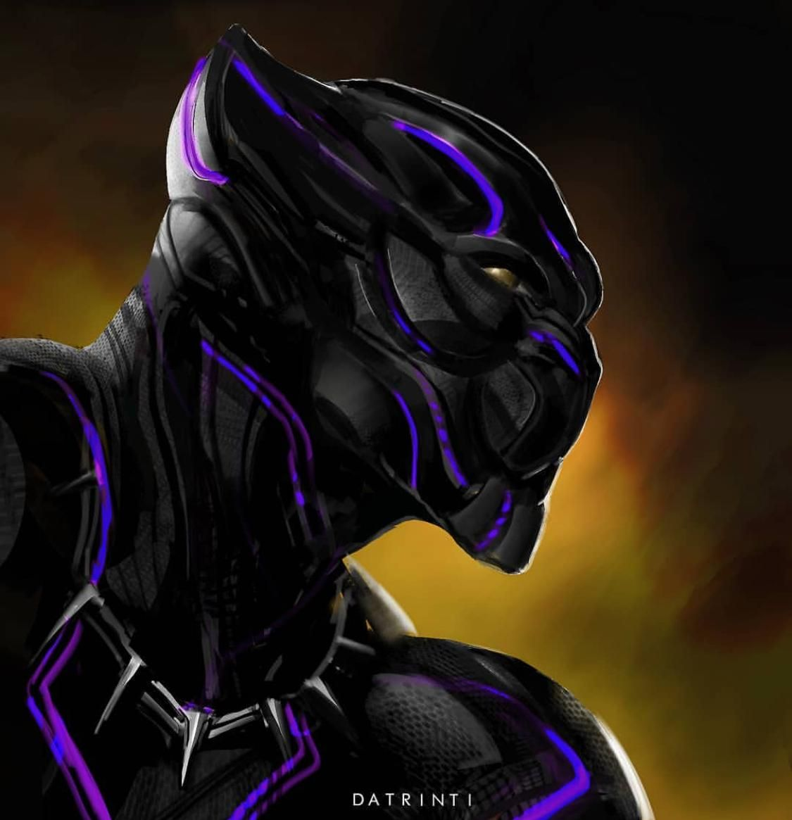 Black Panther by Datrinti