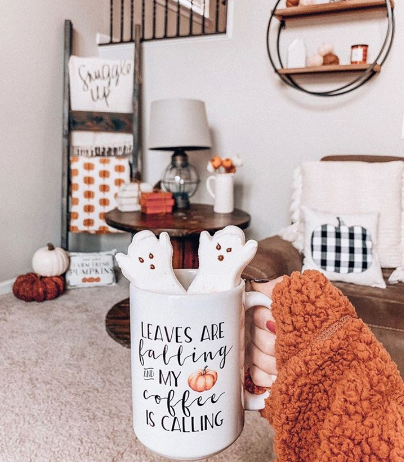 Leaves are Falling and My Coffee is Calling Mug Fall