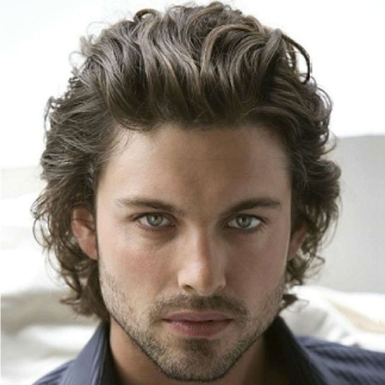 Top Great Hairstyles For Men With Thick Hair Wavy Hair Men Curly Hair Men Mens Hairstyles