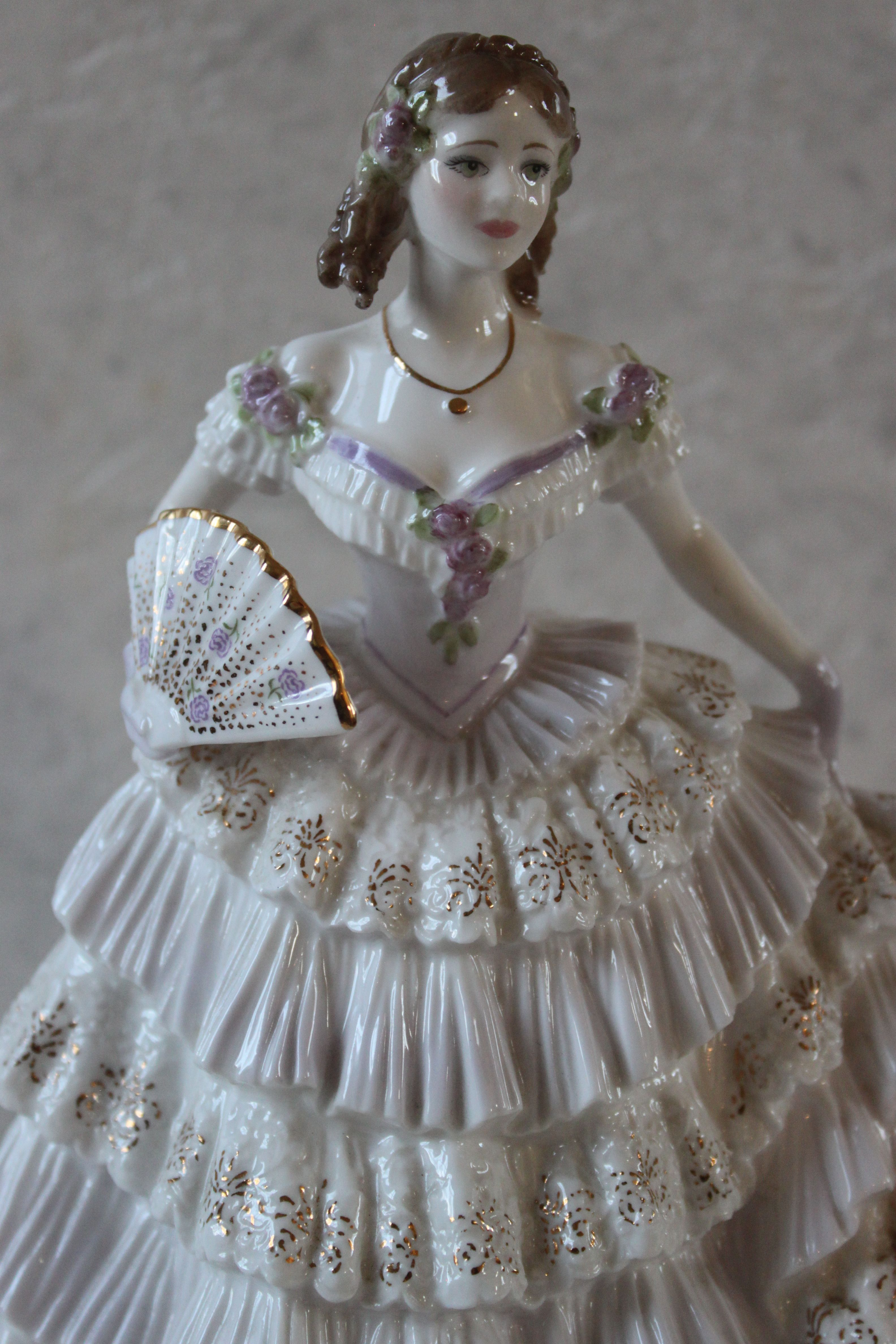 Royal Worcester. «Belle of the Ball» ENGLAND 1994 (With