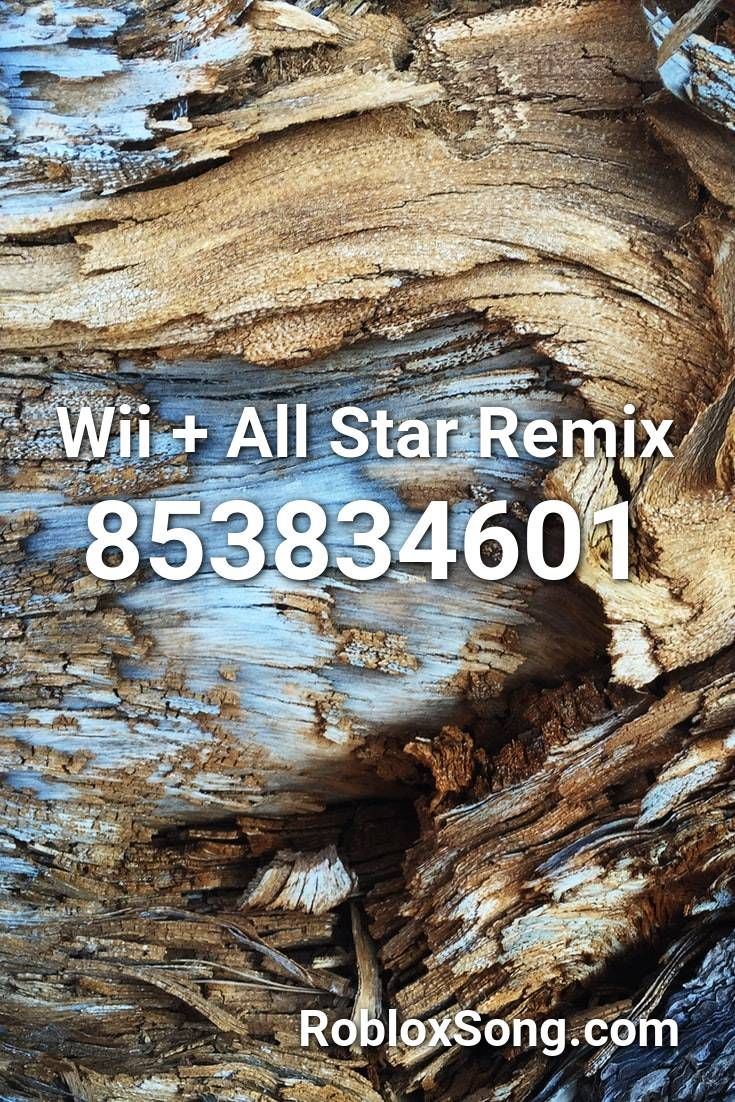 Wii + All Star Remix Roblox ID Roblox Music Codes in