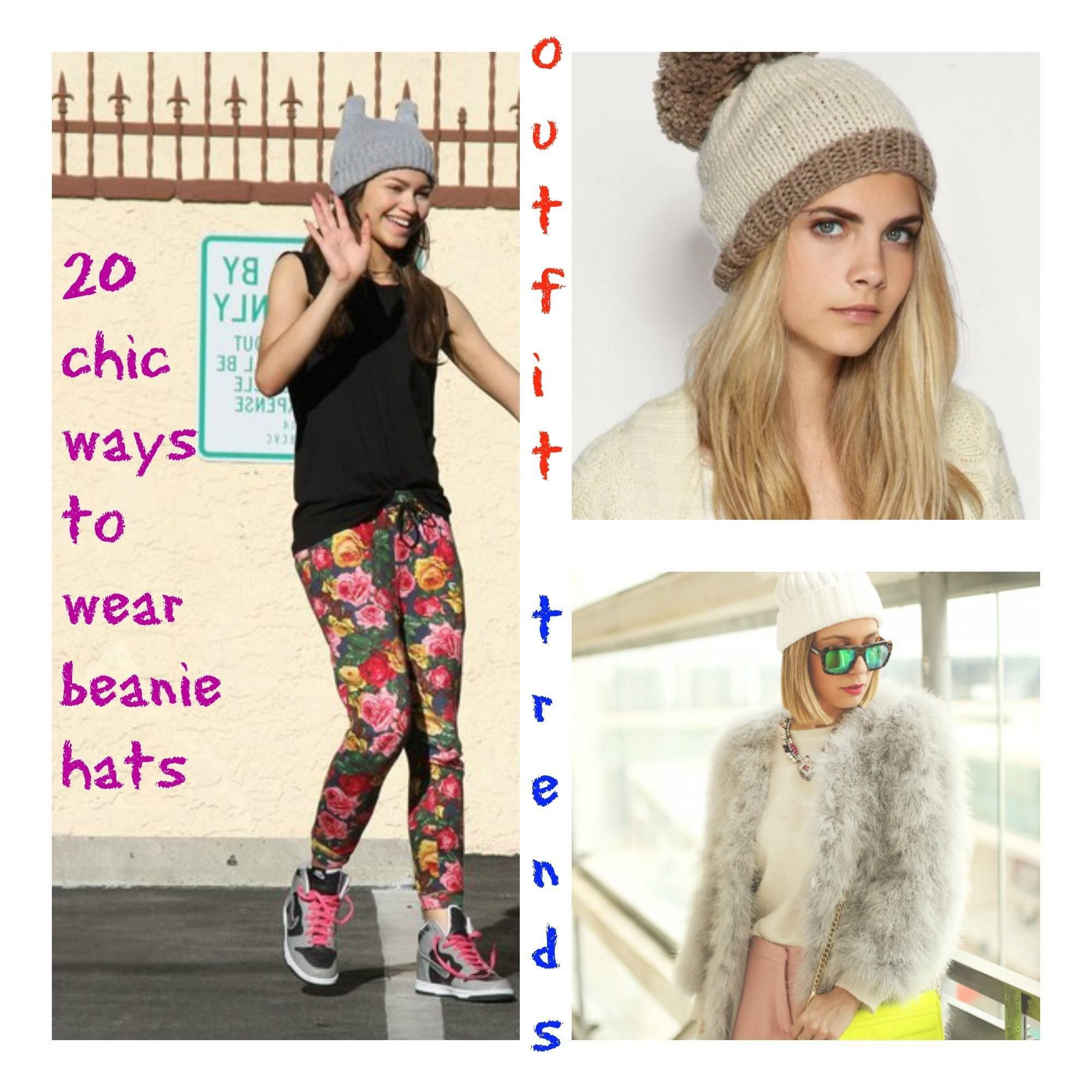 How to Wear Beanie Hats 20 Chic Outfits to Wear with Beanies