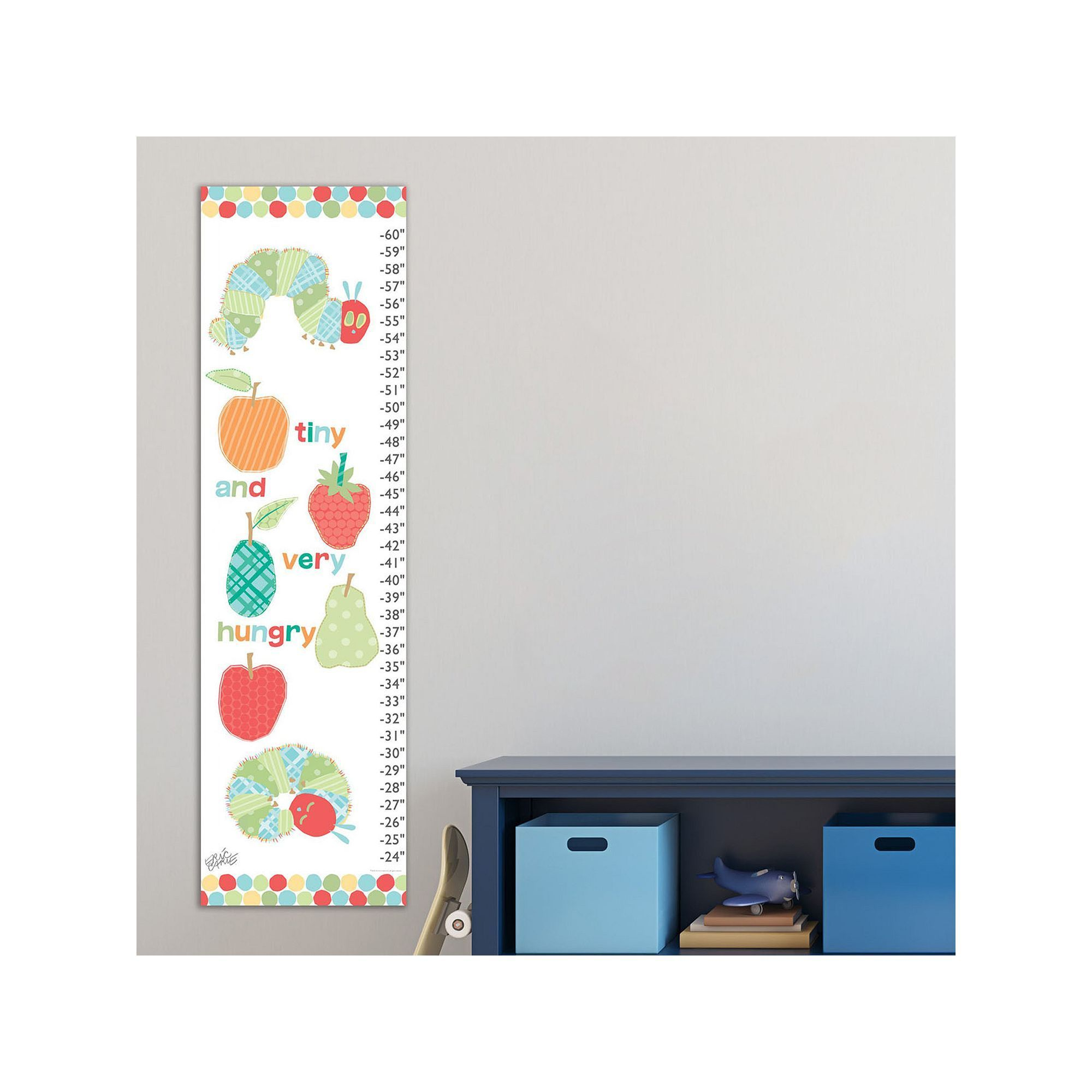 Marmont hill eric carle tiny and hungry catepillars wall growth marmont hill eric carle tiny and hungry catepillars wall growth chart multicolor nvjuhfo Choice Image